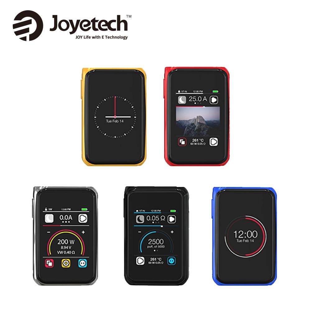Оригинальный 200 Вт Joyetech кубовидной Pro TC mod 2.4-дюймовый Сенсорный экран mod Fit удаленно Aries распылитель нет 18650 Батарея VS G-priv 220 mod