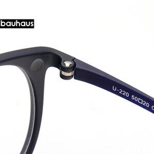Image 5 - Bauhaus 5 lentes diseño italiano gafas de sol magnéticas Clip hombres conducción nocturna Clip de espejo gafas de sol mujeres miopía gafas