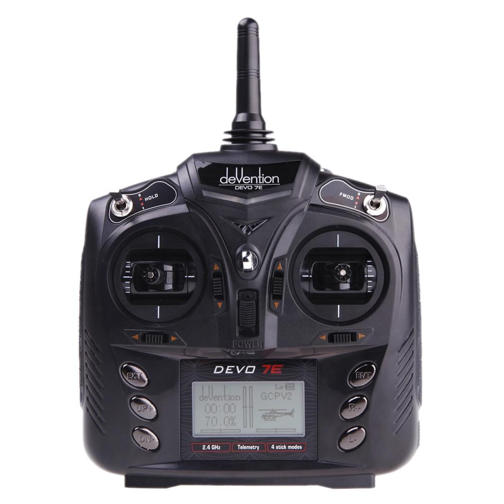 ФОТО Walkera DEVO 7E 2.4G 7CH DSSS Radio Control Transmitter