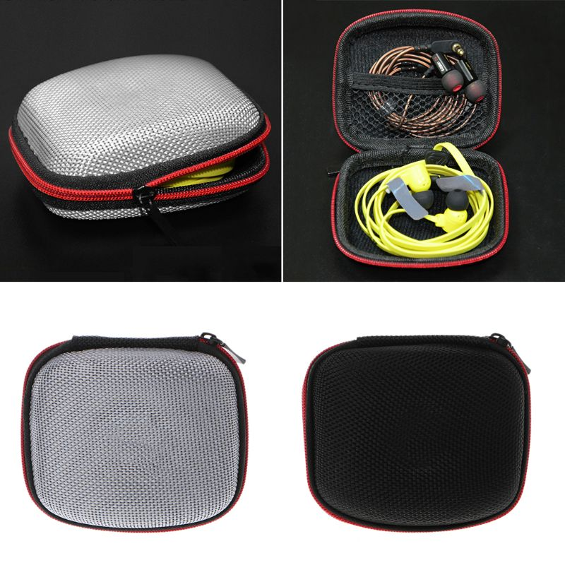 Nex Unisex Hard EVA KZ Earphone Headphone Case Storage Bag Protective Cover for ED10 ED7 ZS3 ZS2 Accessories