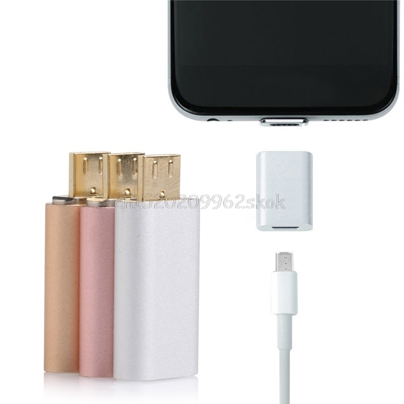 Magnetic Adapter To Micro USB Charger Converter For Samsung Android Cell Phone #H029# aluminum micro usb cable to magnetic charger adapter for sony xperia