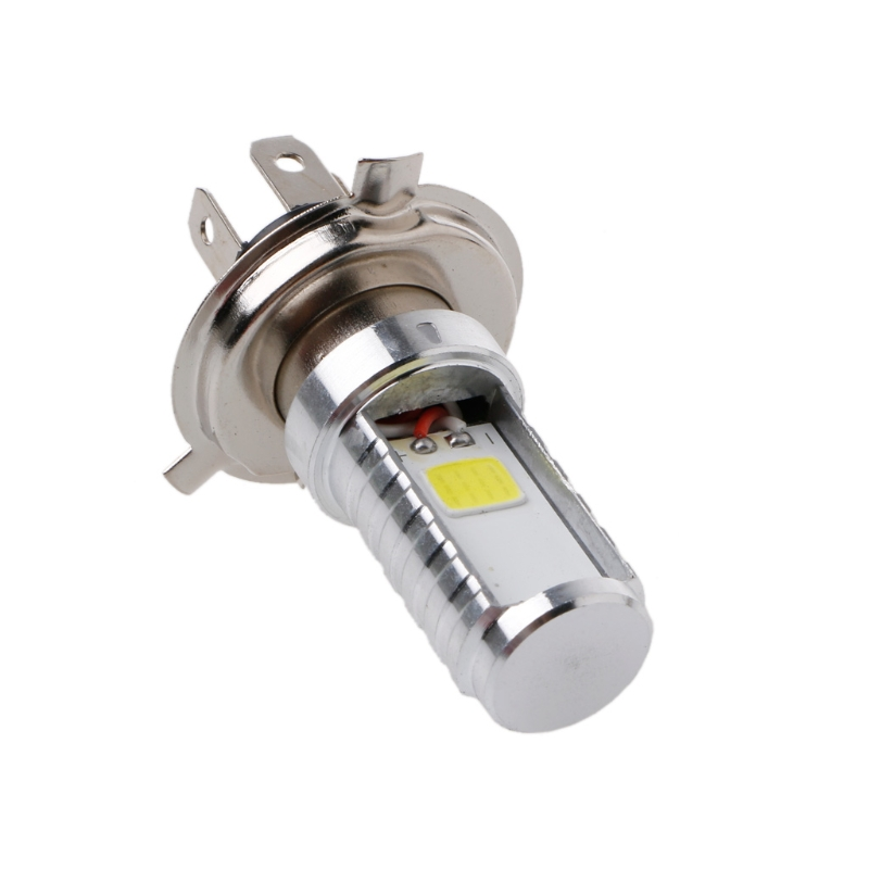 15W H4 Motorcycle Bulb LED Lamp Hi/Lo Beam Headlight Front Light For Honda Kawasaki