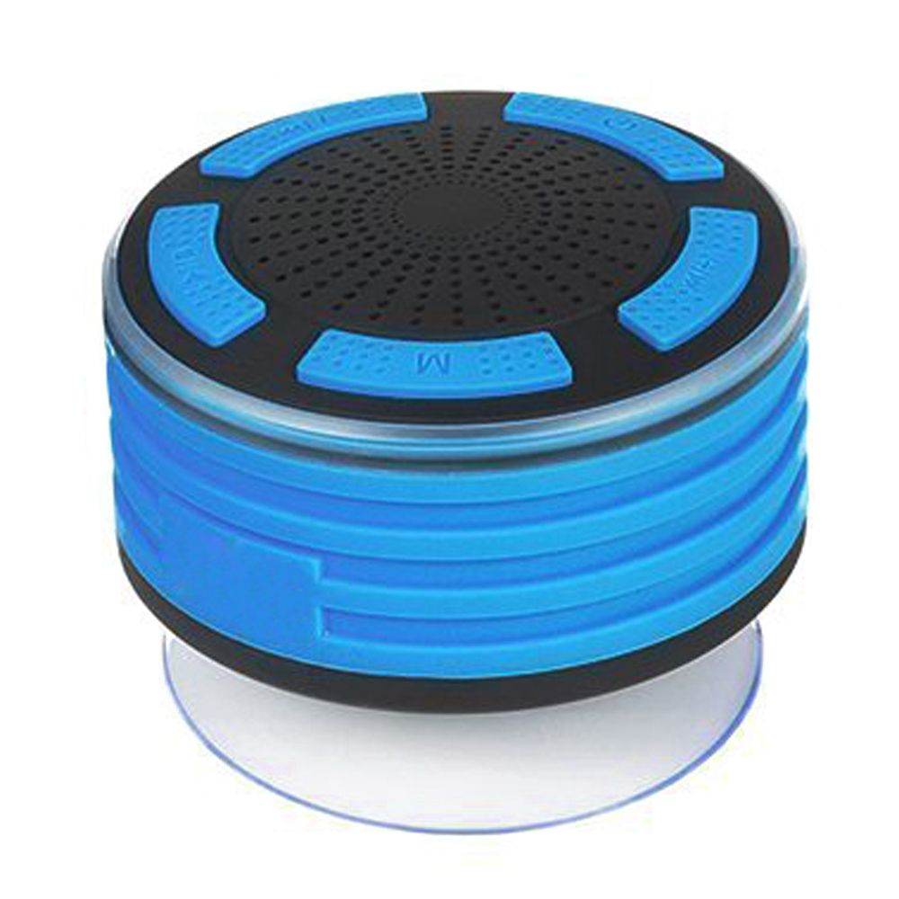 Bluetooth Speakers, IPX7 Portable Wireless Waterproof Speaker with FM Radio and LED Mood lights, Super Bass and HD Sound for S