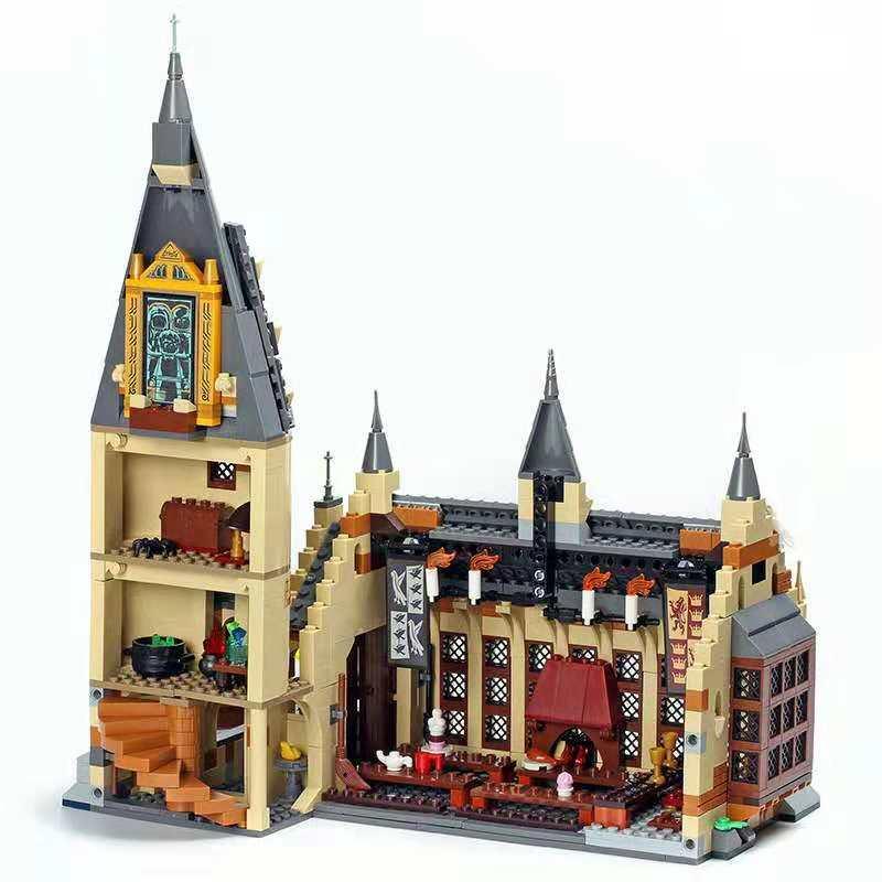 Image 4 - 926 шт наборы фильмов 16052 совместимы с моделями строительных комплектов замок зал блоки игрушки 75954 JP39144-in Блоки from Игрушки и хобби