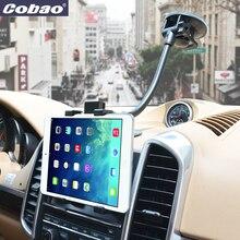 Cobao accesorios del teléfono móvil del parabrisas del coche universal soporte para teléfono soporte cuello largo titular de montaje para iphone 6 7 pequeña tableta pc