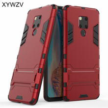 For Huawei Mate 20X Case Cover Armor Rubber Hard Back Phone 20 X Kickstand Fundas