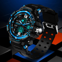 Male Fashion Sport Military Wristwatches 2016 New SANDA Watches Men Luxury Brand 3ATM 30m Dive LED