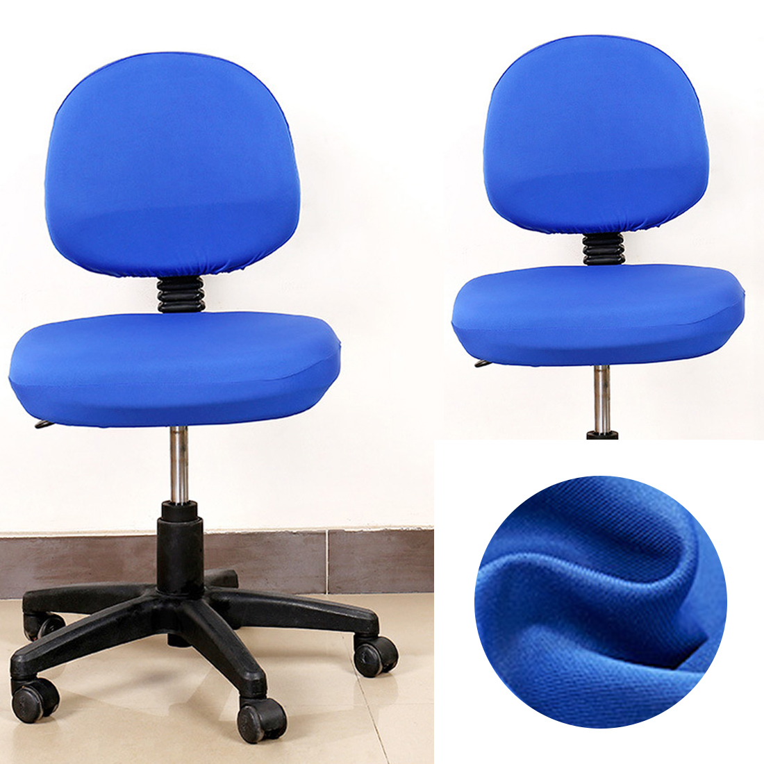Elastic Chair Covers Made with Polyester Material For Office and Computer Chair in Universal Size 2