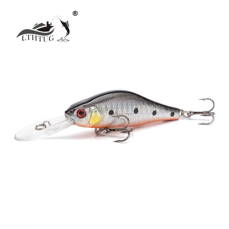 2019 Lthtug Produce Japan Original Design 70mm 10g Suspending Minnow Crankbait Hard Fishing Lure Wobbler Pesca Artificial Bait