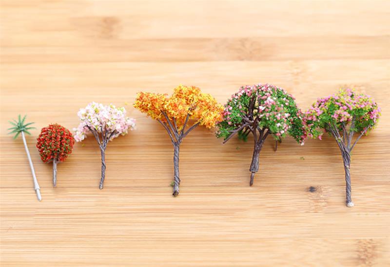 Mini Artificial Tree Moss Fashionable DIY Decorative Artificial Tree Fake Plant Home Decorative Plant