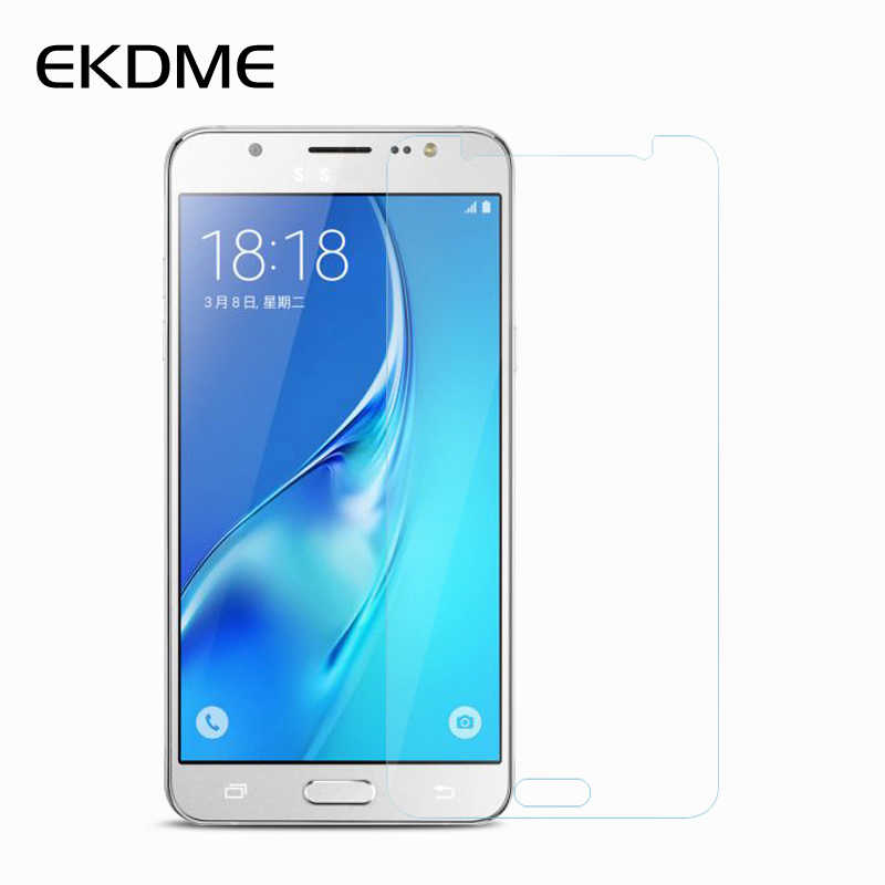 EKDME Toughened Protective Film For Samsung Galaxy S6 S5 J3 J7 J1 Mini Tempered Glass For Samsung A3 A310 A5 A7 2016 G530 G360