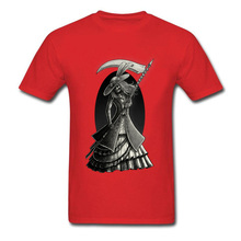 Victorian Death Pure Cotton T Shirt Designer Red Clothing Shirt Novelty Retro Hip Hop Cool T-Shirts For Men 2018 Vintage Fashion printio slow death t shirt