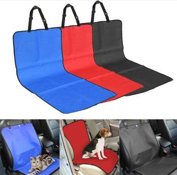 Car Seat Cases Auto Pet Car Seat Cover water Proof for Dogs Cats pet Rear Back Seat covers Size 106 * 46.5cm image