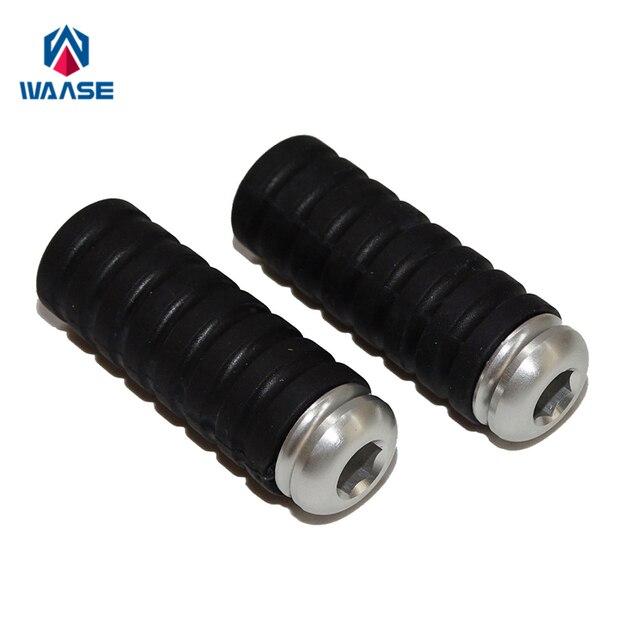 waase Gear Shift Brake Lever Toe Pegs Pedals M6 6mm For Suzuki GSXR 600 750 1000 GSXR1300 M109R SV 650 1000 GSR750 GSR 400 600