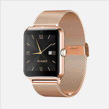 2016 Newest fashion Bluetooth Smart Watch Z50 with heart rate SIM card TF mp3 mp4 compatible with apple and Android Phones