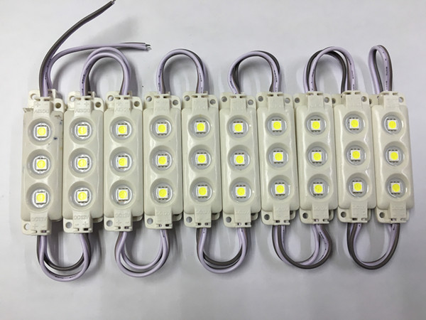 20 шт./лот 5050 Светодиодные модули Водонепроницаемый IP65 Светодиодные модули 68*19 DC 12 В SMD 3 светодиода знака светодиодной подсветкой для объемны…