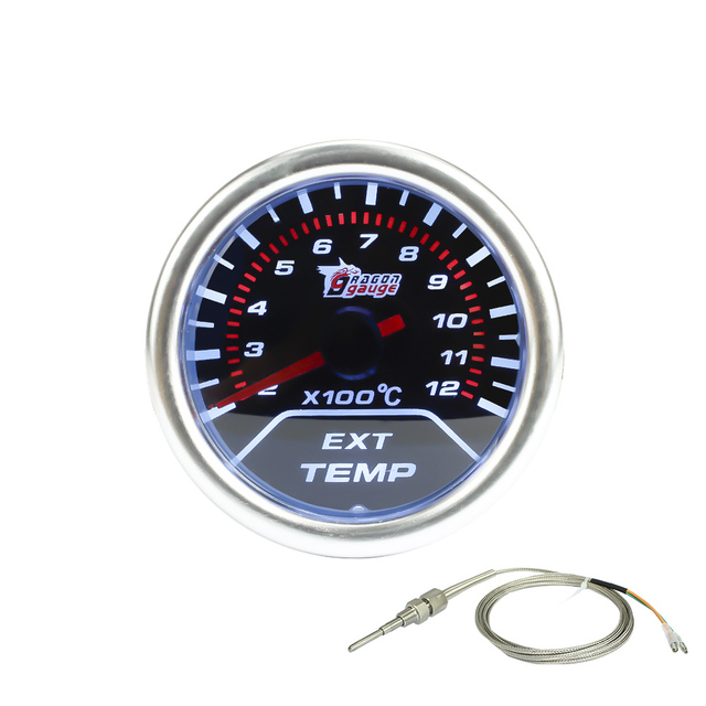 "Free shipping 2""(52mm)  Smoke lens Exhaust gas temp gauge /autometer/auto gauge/tachometer/car meter/Racing meter"