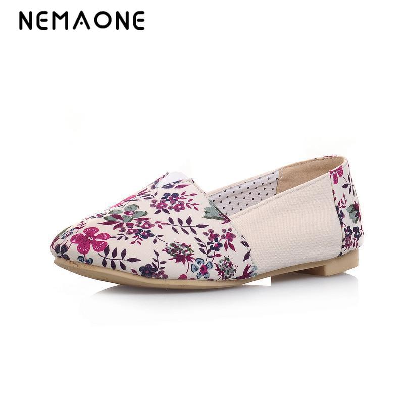 Women Flats 2016 Woman Shoes Round Toe Canvas Shoes Multicolor Printed Women Ballet Shoes Camouflage Casual Shoes zapatos mujer vintage women flats old beijing mary jane casual flower embroidered cloth soft canvas dance ballet shoes woman zapatos de mujer