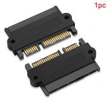 Professional SAS SATA 고속 하드 디스크 드라이브 어댑터 스트레이트 180 각도 액세서리 15 핀 전원