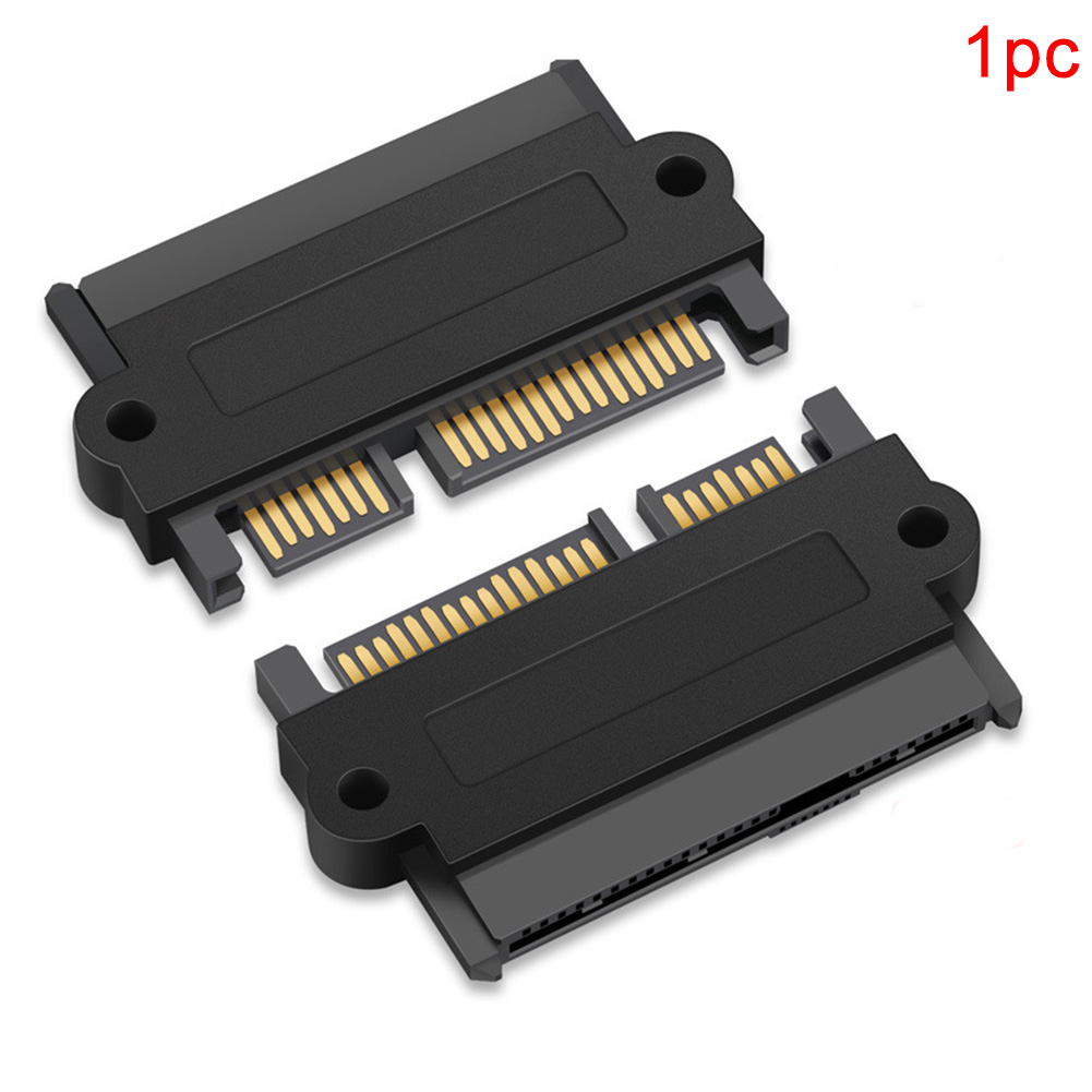 Professional SAS To SATA High Speed Hard Disk Drive Adapter Straight 180 Degree Angle Accessories With 15 Pin Power