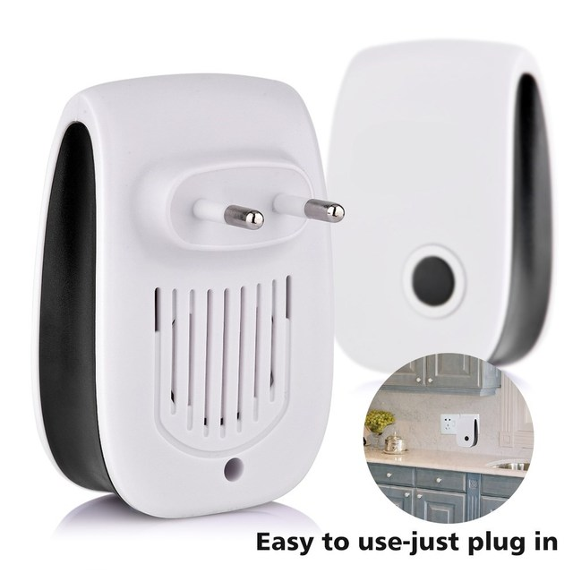 Ultrasonic Pest Repeller Blue Light Insect Repeller Anti Mosquito Rejector Mice Flies Cockroach Killer Rat Bug Pest Control Tool