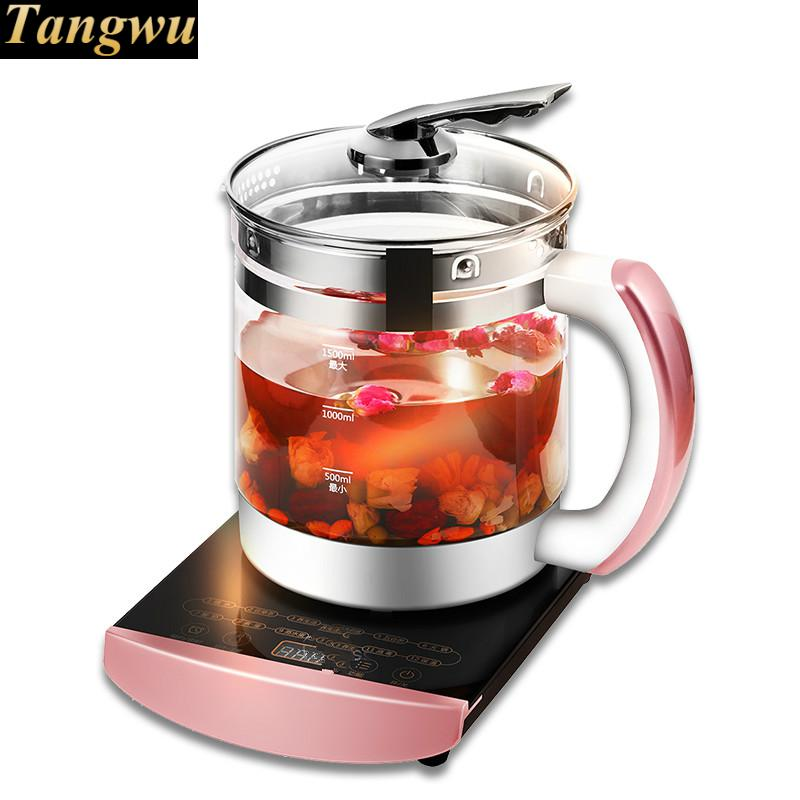 Electric kettle glass raising  full automatic heat preservation pot