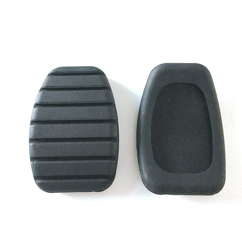 Protectores de goma para pedales de freno y embrague 2 unidades