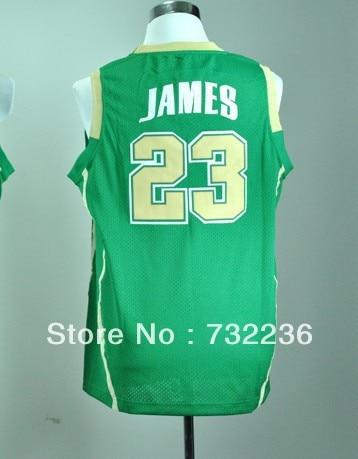 new product 0dd5f 82a27 the fighting irish 23 lebron james green jersey