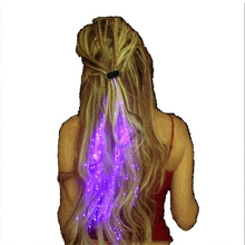 Świecące ozdoby do włosów
