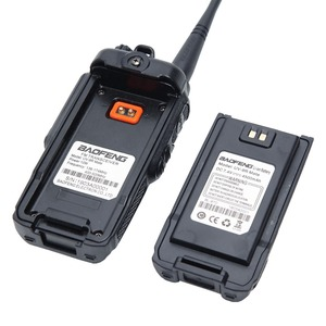 Image 5 - Baofeng UV 9R Mate 4500 mAh 10 W Aggiornamento UV 9R Più IP67 Impermeabile Walkie Talkie per CB Stazione Radio di Prosciutto 10 KM Lungo Raggio VHF UHF