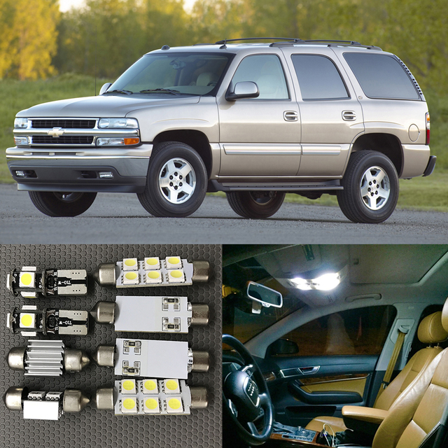2003 Chevrolet Express 1500 Cargo Interior: 12pcs Auto Interior LED Light Bulbs Kit For 2000 2001 2002