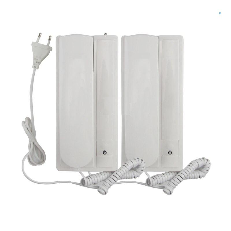 Room To Room Audio Door Phone Home Intercom Doorbell Doorphone
