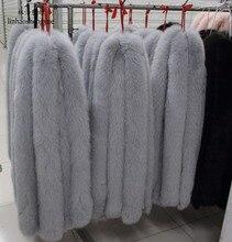 Linhaoshengyue reale protezione della Volpe vigoreux bianco nero di lana cappelli di pelliccia di procione vigoreux collo di pelliccia pelliccia di volpe collo di pelliccia