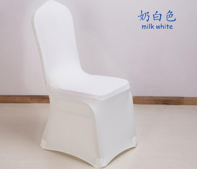 Wholesale Household Chair Covers Spandex Stretch Wedding Chair Cover Thick Hotel Banquet Chair Cover