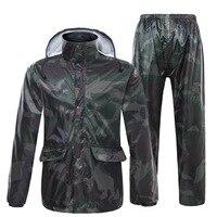 Impermeable Raincoat Women/Men Suit Rain Coat Outdoor Hood Women Raincoat Motorcycle Fishing Camping Rain Gear Men Rainwear