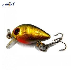 Fishing lures 3CM-1.5G-10# Hooks Crankbait wobbler pesca artificial hard bait fishing tackle Swimbait tackle