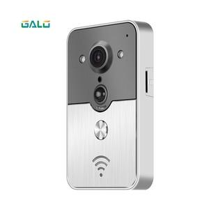 Image 3 - 720P TCP/IP WiFi Video Doorbell Support Wireless Unlock IOS Android APP Control Metal body exquisite design