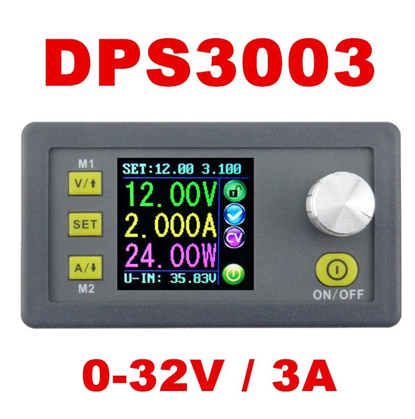 DP30V3A version Améliorée Programmable Module D'alimentation Buck Tension courant Convertisseur LCD Affichage Voltmètre DPS3003 21% off