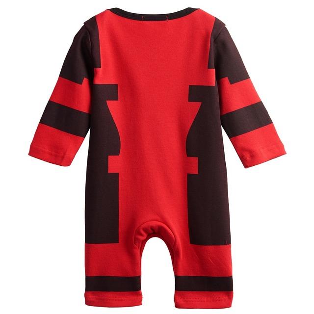 Bébé Garçons Deadpool Barboteuses Infantile Salopette Nouveau-Né Bébé Costume 0-24 M