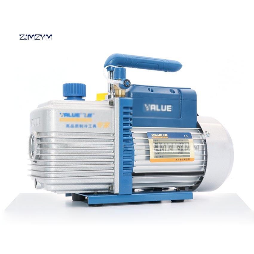 New FY-3C-N 3L Air Vacuum Pump Conditioning Vacuum Pump Single-stage Rotary Vacuum Pump 220V 370W 2pa 10.8 Cubic Meters / Hour vacuum pump inlet filters f007 7 rc3 out diameter of 340mm high is 360mm