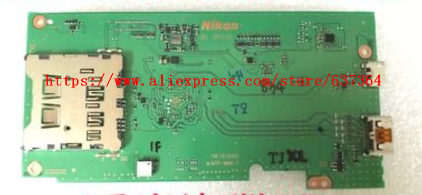 95%New motherboard / mainboard For Nikon D3400 Main Board PCB Replacement Repair Part95%New motherboard / mainboard For Nikon D3400 Main Board PCB Replacement Repair Part