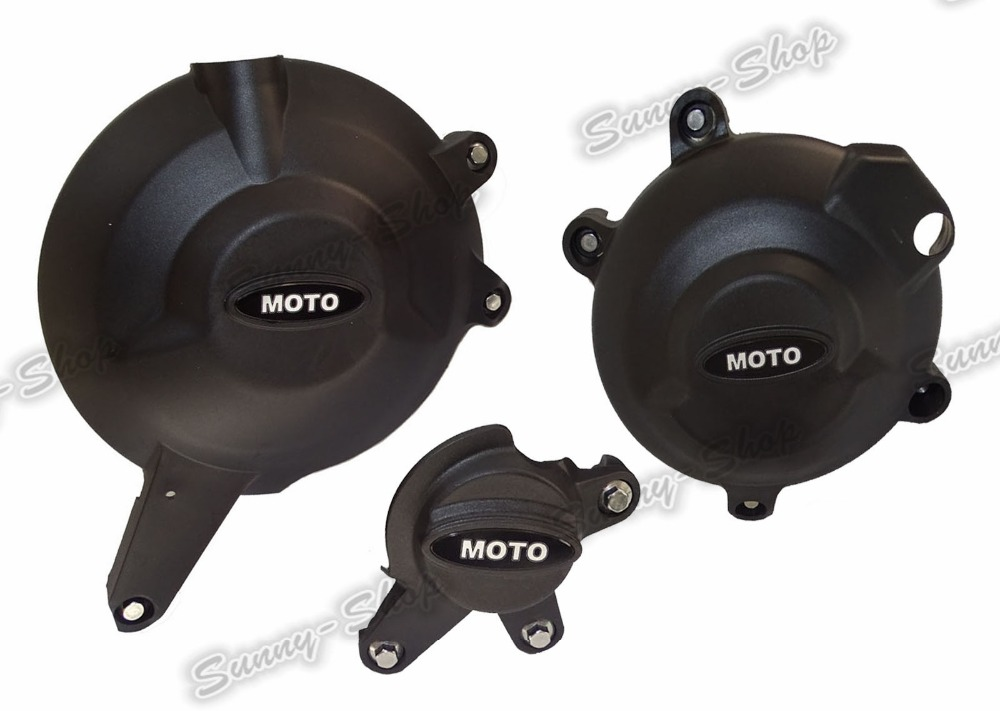 Engine Alternator Clutch Ignition Cover Set Kit For KAWASAKI Versys 650 KLE650 2006 2007 2008 2009 2010 2011 2012 2013 2014-2016 engine alternator clutch ignition cover set kit for honda cbr600rr cbr 600 rr 2007 2008 2009 2010 2011 2012 2013 2014 2015 2016