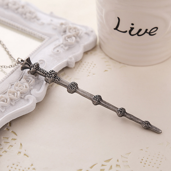 Harry Potter Hermione Dumbledore Magic Wand Fashion Necklace