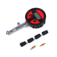Digital LCD Tyre Air Pressure Gauge Manometer 0 200PSI For Car Truck Motorbike Vehicle Tester Tool