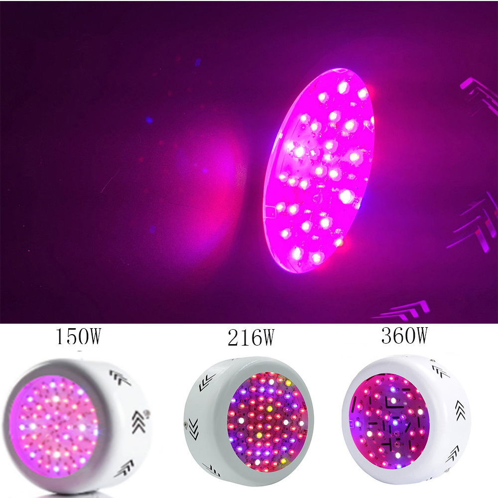Tinggi Hasil Spektrum Penuh LED Grow Lights UFO LED Plant Grow Light untuk Sayuran Sayur