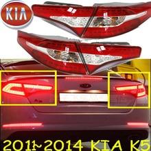 Auto stoßstange schwanz licht für KIA K5 rücklicht bremse LED 2011 ~ 2013y auto zubehör Taillamp für KIA K5 hinten licht nebel
