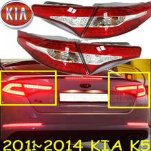 مصد سيارة الذيل ضوء لكيا K5 الخلفي الفرامل LED 2011 ~ 2013y اكسسوارات السيارات Taillamp لكيا K5 الضباب الخفيف الخلفي