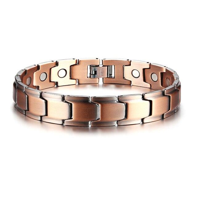 Men Pure Copper Link...