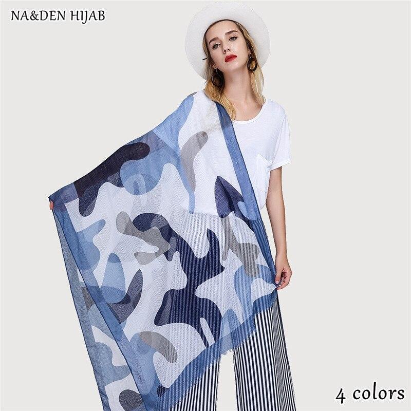 4 colors NEW natural style scarf leopard shawl fashion hijab luxury women scarves shawls brand soft muffler islamic hijabs