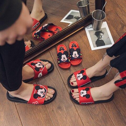 meninos chinelos sapatos casa chinelos meninas criancas de couro macio de borracha pvc dos desenhos